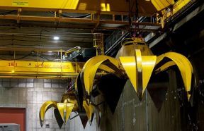 QZ Double Girder Overhead Crane With Grab