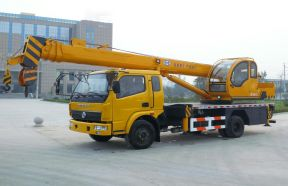 Truck Crane With Telescopic Boom