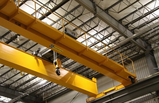 FEM/DIN Double Girder Overhead Crane With Hoist Trolley