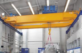 FEM/DIN Double Girder Overhead Crane With Open Winch Hoist