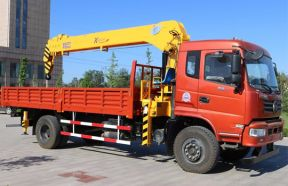 Truck Mounted Crane With Telescopic Boom