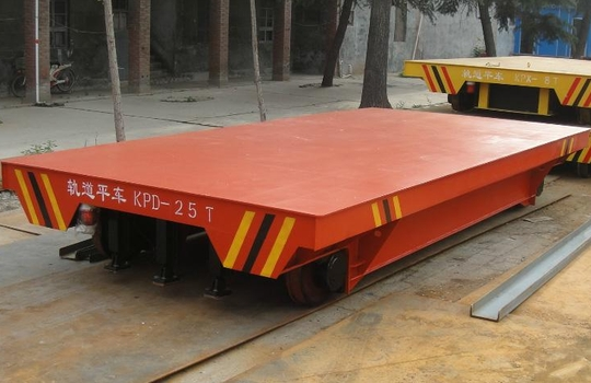 Low Voltage Conductor Rail Transfer Cart