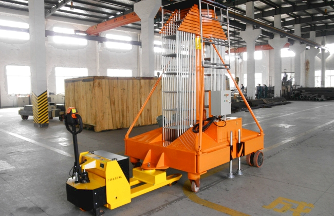Telescopic Hydraulic Cylinder Vertical Lifts