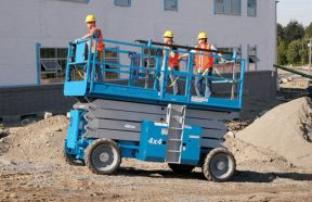 Diesel Drive Self-Propelled Rough Terrain Scissor Lifts