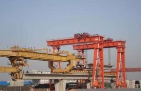 Construction Gantry Crane for Concrete Bridge Girder