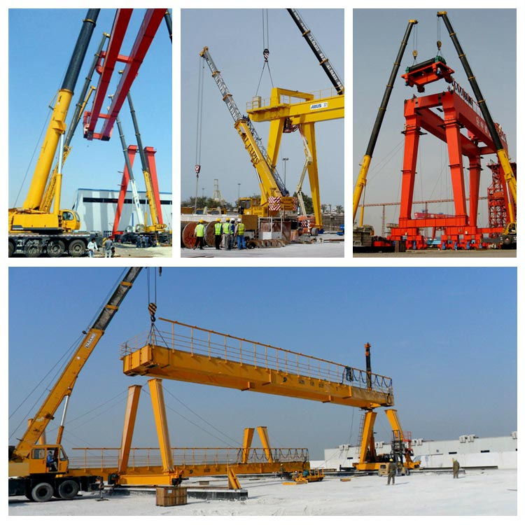 Double girder gantry crane euro style