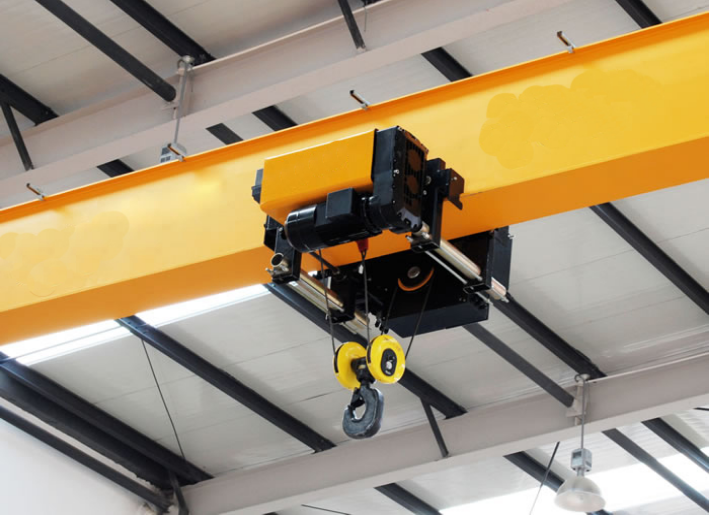 wire rope hoist for double beam crane