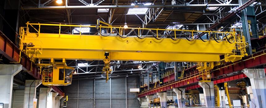 FEM/DIN Double Girder Overhead Crane With Open Winch Hoist