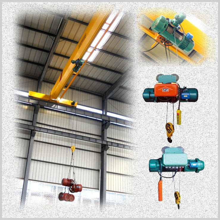 Single girder iverhead crane