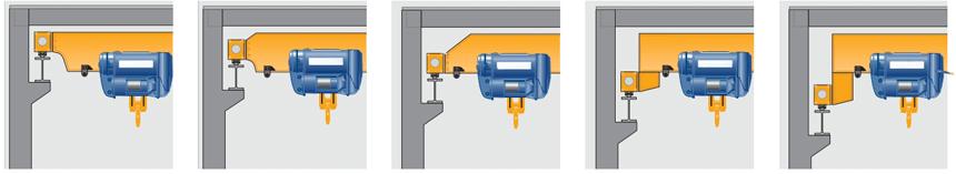 Single girder electric hoistoverheadcrane
